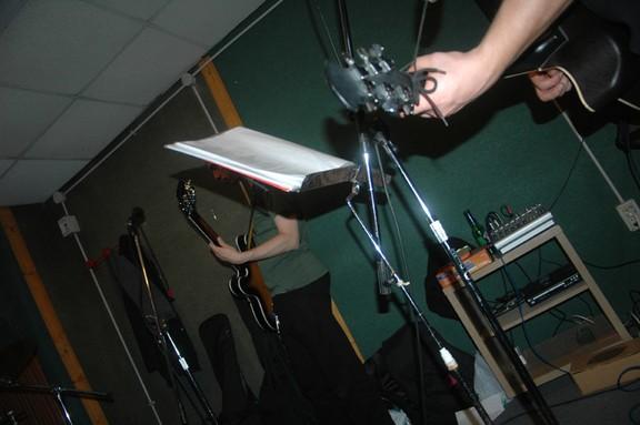 sala prove musicazione